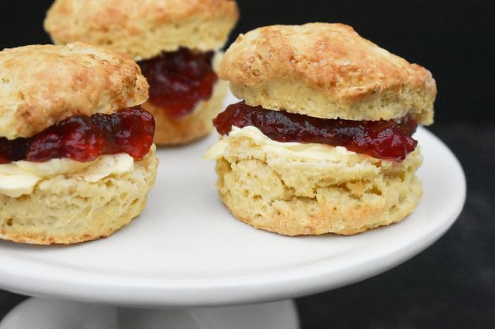 Scones Jam and Cream